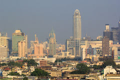 rascacielos de Bangkok imágenes de archivo libres de regalías