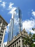 Rascacielos de Chicago Foto de archivo libre de regalías