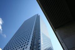 Rascacielos de cristal Foto de archivo libre de regalías
