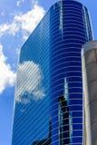 Rascacielos de cristal Imágenes de archivo libres de regalías