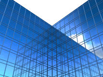 Rascacielos de cristal modernos Stock de ilustración