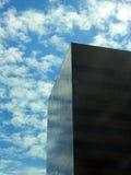 Rascacielos de cristal negro fotografía de archivo