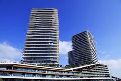 Rascacielos de Estambul Fotografía de archivo libre de regalías