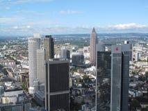 Rascacielos de Francfort Fotos de archivo libres de regalías