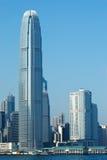 Rascacielos de Hong-Kong Imagen de archivo libre de regalías