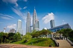 Rascacielos de Kuala Lumpur Imagen de archivo libre de regalías