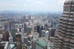 Rascacielos de Kuala Lumpur Foto de archivo