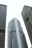 Rascacielos de la ciudad fotos de archivo