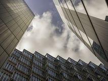 Rascacielos de la ciudad de Londres Foto de archivo