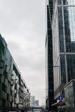 Rascacielos de la ciudad de Moscú Foto de archivo