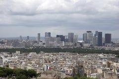 Rascacielos de la defensa del La Fotos de archivo libres de regalías