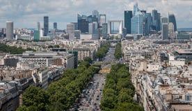 Rascacielos de la defensa del La Imagen de archivo libre de regalías