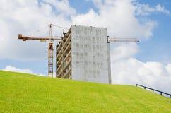Rascacielos de la demolición Imagen de archivo
