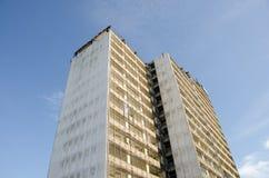 Rascacielos de la demolición Fotografía de archivo libre de regalías