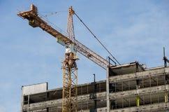 Rascacielos de la demolición Foto de archivo