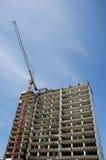Rascacielos de la demolición Foto de archivo libre de regalías