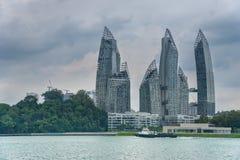 Rascacielos de la selva Imágenes de archivo libres de regalías