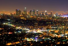 Rascacielos de Las Ángeles Imagen de archivo libre de regalías
