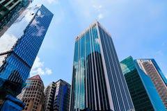 Rascacielos de los edificios de oficinas imágenes de archivo libres de regalías