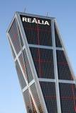 Rascacielos de Madrid Fotos de archivo