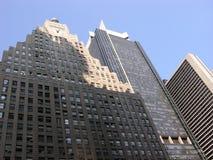 Rascacielos de Manhattan en Nueva York, los E.E.U.U. Foto de archivo libre de regalías
