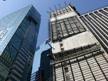 Rascacielos de Manhattan en Nueva York, los E.E.U.U. Imágenes de archivo libres de regalías