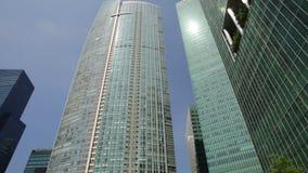 Rascacielos de Marina Bay almacen de video