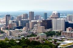 Rascacielos de Montreal Fotografía de archivo libre de regalías