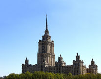 Rascacielos de Moscú del período soviético imagen de archivo libre de regalías