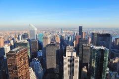 Rascacielos de New York City Imagen de archivo libre de regalías