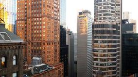 Rascacielos de New York City Fotografía de archivo libre de regalías