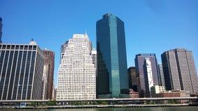 Rascacielos de Nueva York Foto de archivo libre de regalías