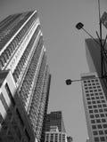 Rascacielos de Nyc Foto de archivo libre de regalías