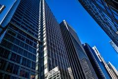 Rascacielos de NYC Imagenes de archivo