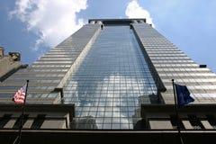Rascacielos de NYC fotografía de archivo libre de regalías