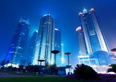 Rascacielos de Shangai Imágenes de archivo libres de regalías