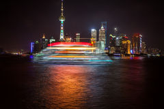 Rascacielos de Shangai Lujiazui CBD Fotos de archivo libres de regalías