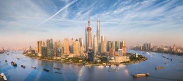 Rascacielos de Shangai Lujiazui CBD fotos de archivo
