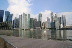 Rascacielos de Singapur Fotografía de archivo libre de regalías