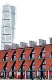 Rascacielos de torneado del torso, Malmö - arquitectura moderna Imágenes de archivo libres de regalías