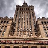Rascacielos de Varsovia imagen de archivo