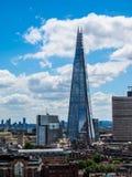 Rascacielos del casco en Londres (hdr) Fotos de archivo libres de regalías