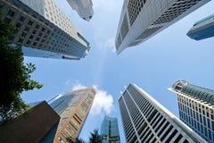 Rascacielos del edificio del asunto fotografía de archivo libre de regalías