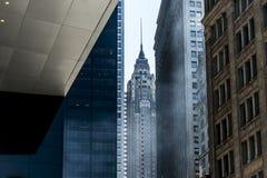 Rascacielos del estado del imperio del horizonte de New York City los E.E.U.U. foto de archivo libre de regalías