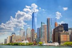 Rascacielos del Lower Manhattan foto de archivo libre de regalías