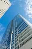 Rascacielos doble Imagen de archivo