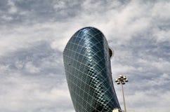 Rascacielos en Abu Dhabi Fotografía de archivo