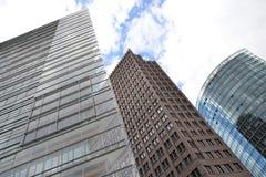 Rascacielos en Berlín fotos de archivo