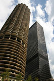 Rascacielos en Chicago 2 Fotos de archivo libres de regalías