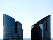 Rascacielos en defensa del La Imagen de archivo